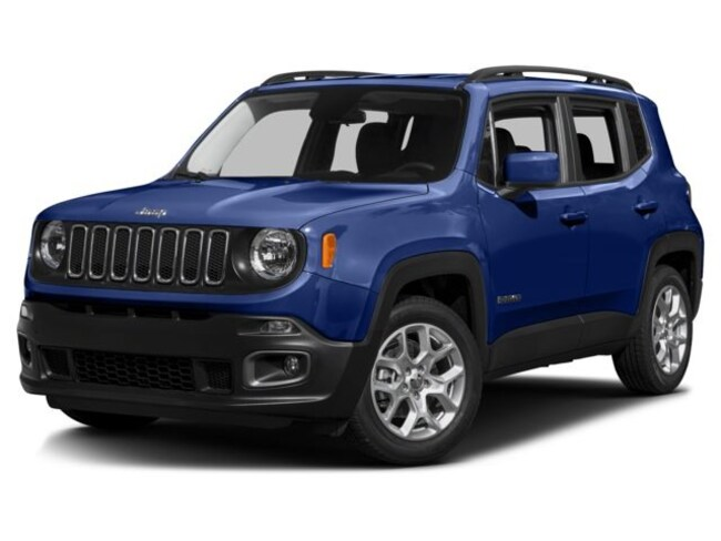 New 2017 Jeep Renegade ALTITUDE 4X2 Sport Utility For Sale in Atlus, OK