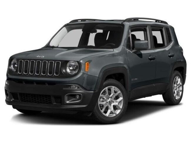 New 2017 Jeep Renegade Latitude FWD SUV in Peoria