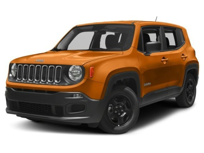 New 2017 Jeep Renegade Sport 4x4 SUV in El Paso