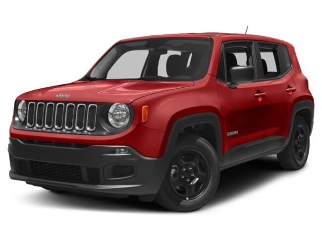 New 2017 Jeep Renegade Sport 4x4 SUV For Sale North Attleboro Massachusetts