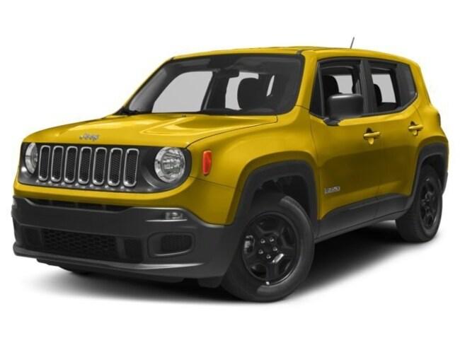 New 2017 Jeep Renegade Sport 4x4 SUV in El Paso