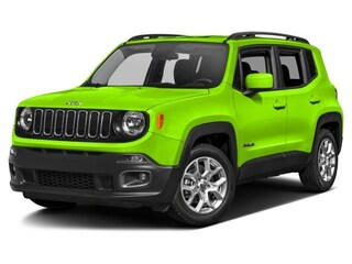 New 2017 Jeep Renegade Latitude 4x4 SUV Grand Forks, ND