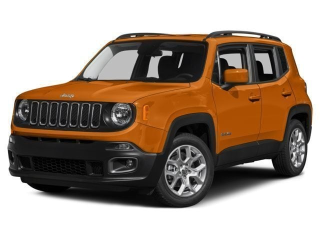 New 2017 Jeep Renegade LATITUDE 4X4 Sport Utility in Manchester, NH