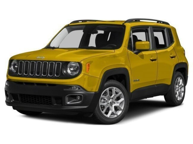 New 2017 Jeep Renegade Latitude 4x4 SUV Fremont