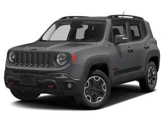 New 2017 Jeep Renegade TRAILHAWK 4X4 Sport Utility in Sarasota, FL