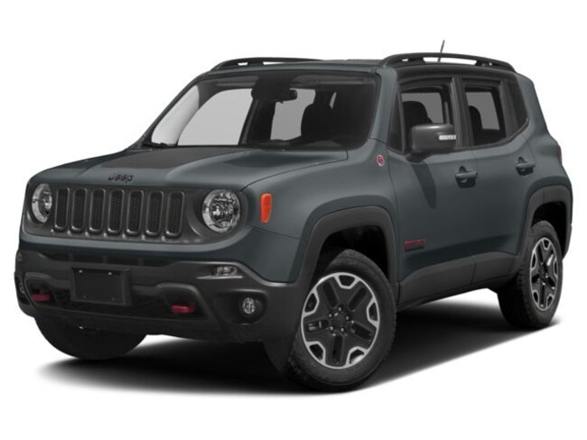 New 2017 Jeep Renegade Trailhawk 4x4 SUV Silver Spring