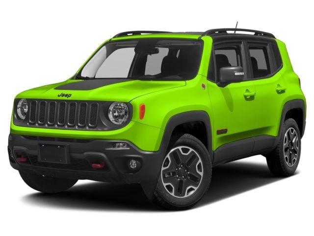 New 2017 Jeep Renegade Trailhawk 4x4 SUV Missoula, MT