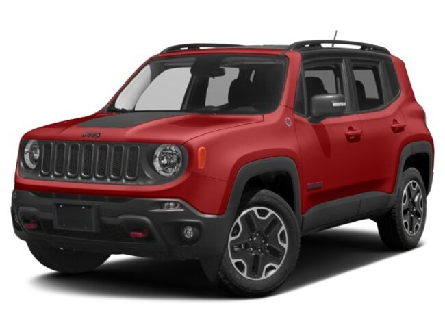 New 2017 Jeep Renegade Trailhawk 4x4 SUV in El Paso