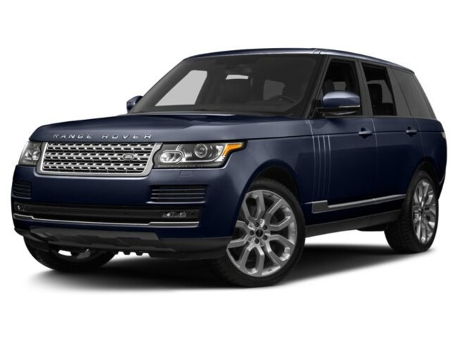 Certified Pre-Owned 2017 Land Rover Range Rover 5.0 Supercharged SUV in Thousand Oaks, CA