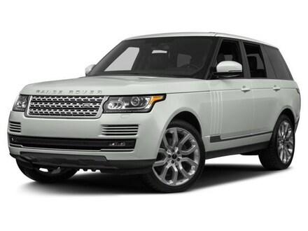 2017 Land Rover Range Rover 4DR SUV V8 SC LWB SUV