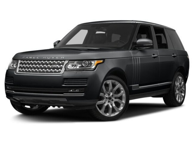 2017 Land Rover Range Rover Supercharged LWB SUV