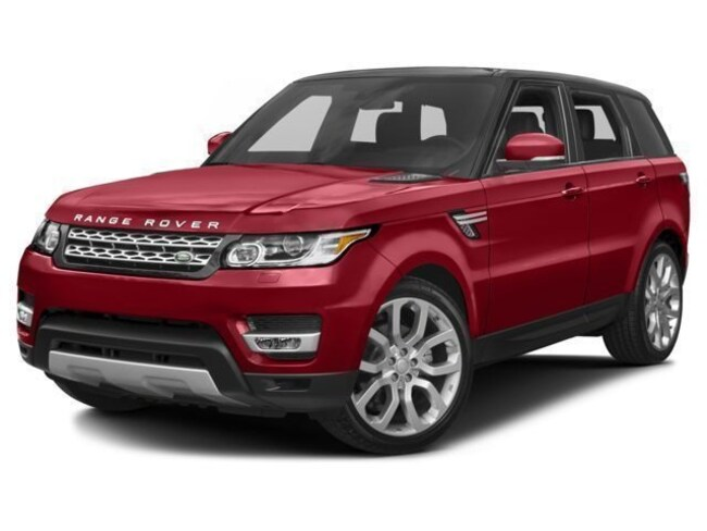 Used 2017 Land Rover Range Rover Sport 3.0L V6 Supercharged HSE SUV Dallas, TX