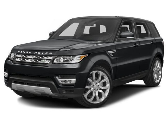New 2017 Land Rover Range Rover Sport 3.0L V6 Supercharged HSE SUV in Bedford, NH