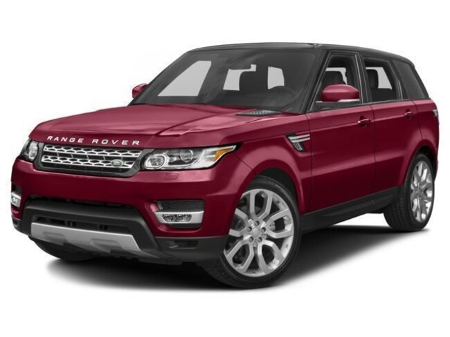 Certified Pre-Owned 2017 Land Rover Range Rover Sport 3.0L V6 Supercharged HSE SUV for sale in Houston, TX