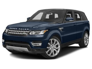 Used 2017 Land Rover Range Rover Sport HSE SUV for sale on Long Island