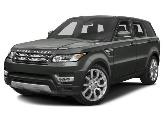 New 2017 Land Rover Range Rover Sport 5.0L V8 Supercharged SUV in Bedford, NH