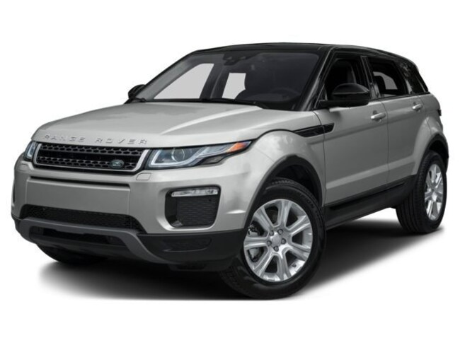 Certified Pre-Owned 2017 Land Rover Range Rover Evoque SE SUV For Sale Dallas, Texas