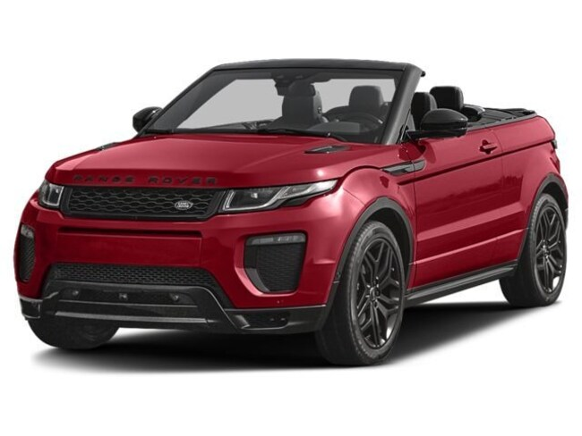 Used 2017 Land Rover Range Rover Evoque HSE Dynamic Convertible For Sale El Paso, Texas