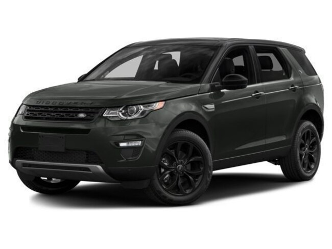 Pre-Owned 2017 Land Rover Discovery Sport HSE Lux SUV in Bedford, NH