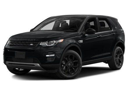 2017 Land Rover Discovery Sport HSE Luxury 4WD Sport SUV