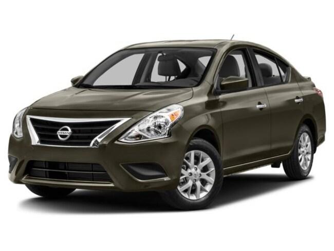 2017 Nissan Versa 1.6 S+ Sedan