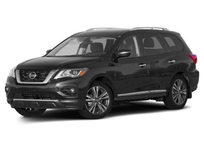 New 2017 Nissan Pathfinder SV SUV Redwood City