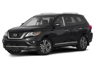 New 2017 Nissan Pathfinder Platinum SUV 5N1DR2MM2HC628051 For Sale/Lease Moline, IL