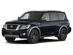 Certified Pre-Owned 2017 Nissan Armada Platinum SUV in Manchester, NH