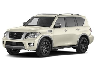 New 2017 Nissan Armada Platinum SUV in Rosenberg, TX