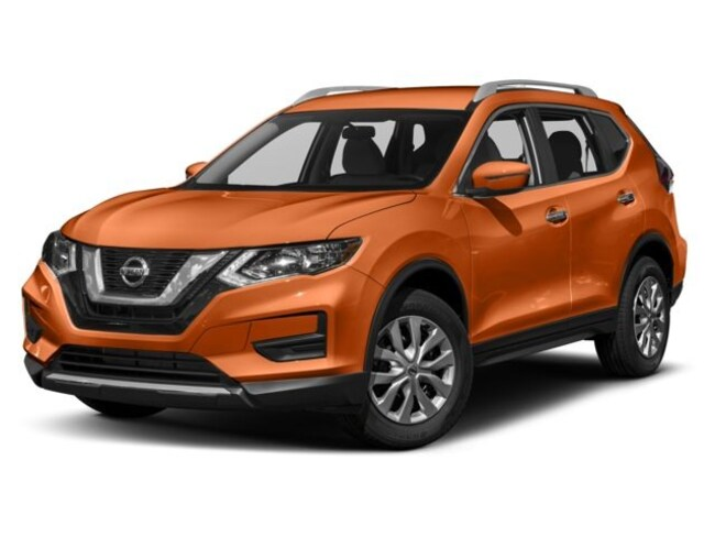 Used 2017 Nissan Rogue Awd S Suv Monarch Orange For Sale In