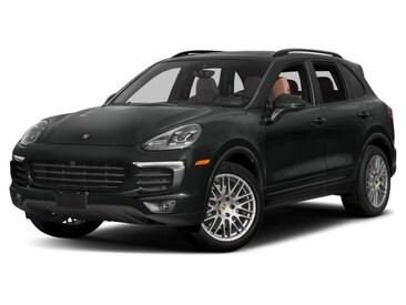 2017 Porsche Cayenne Platinum Edition SUV