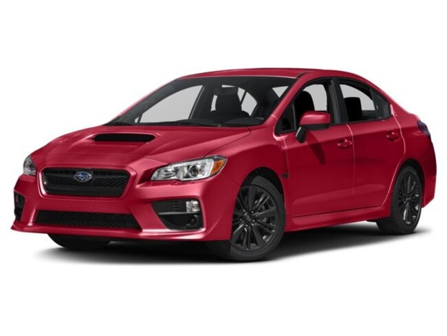 New 2017 Subaru WRX Base (M6) Sedan near Boston