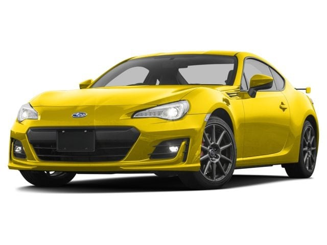 2017 Subaru BRZ Series.Yellow Coupe