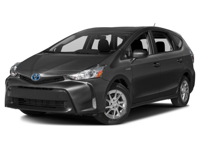 2017 Toyota Prius v Three Wagon