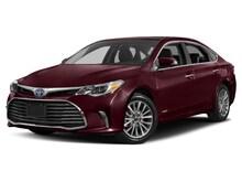2017 Toyota Avalon Hybrid Limited Sedan