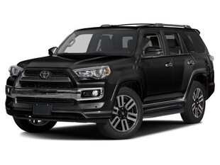2017 Toyota 4Runner Limited Sport Utility