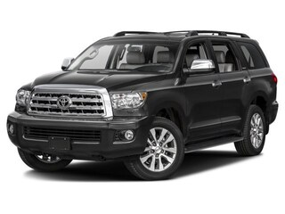 New 2017 Toyota Sequoia Limited SUV in Hartford near Manchester CT