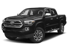 Used 2017 Toyota Tacoma Limited Truck Double Cab in Laredo, TX