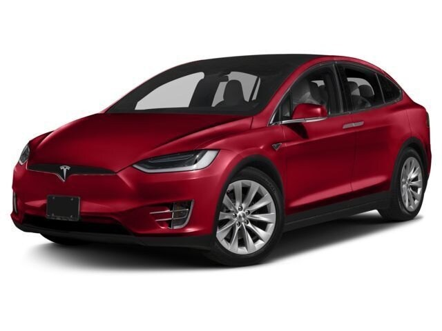 Featured used 2017 Tesla Model X 100D SUV for sale in Waukesha, WI