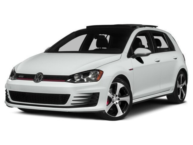 Used 2017 Volkswagen Golf GTI Autobahn 2.0T 4-Door  Manual 2.0T  Autobahn Manual Fort Myers
