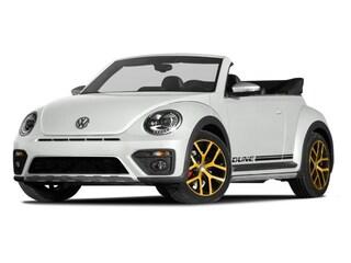 Used 2017 Volkswagen Beetle 1.8T Dune Convertible for sale in Houston