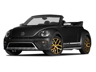 2017 Volkswagen Beetle 1.8T Dune Convertible