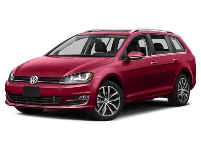 2017 Volkswagen Golf SportWagen TSI SEL Wagon