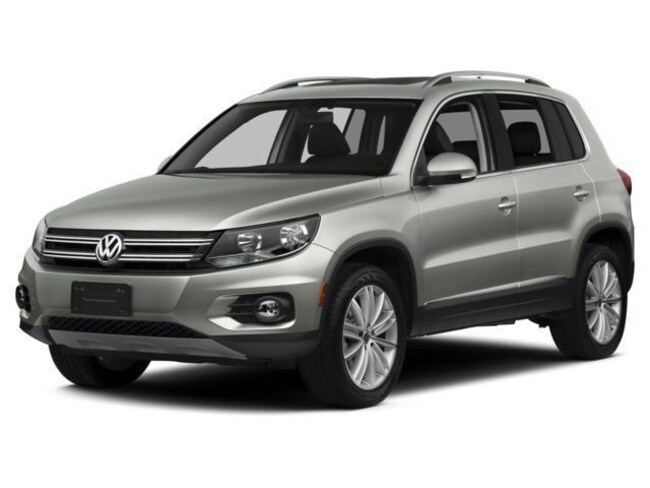 2017 Volkswagen Tiguan Limited Limited FWD