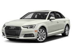 New 2018 Audi A4 2.0T Sedan in Iowa City, IA
