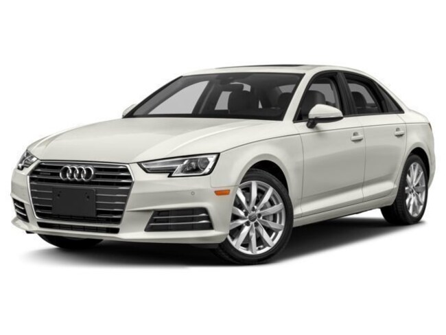 2018 Audi A4 Tech Premium Plus Black Optic Sedan