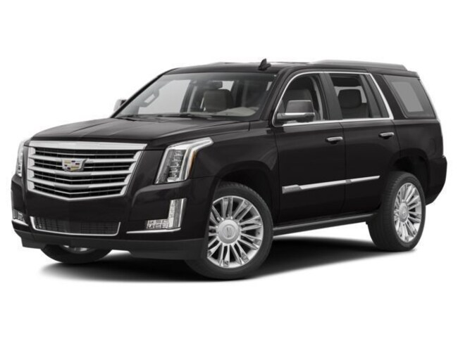 New 2018 CADILLAC Escalade Platinum SUV in Cathedral City
