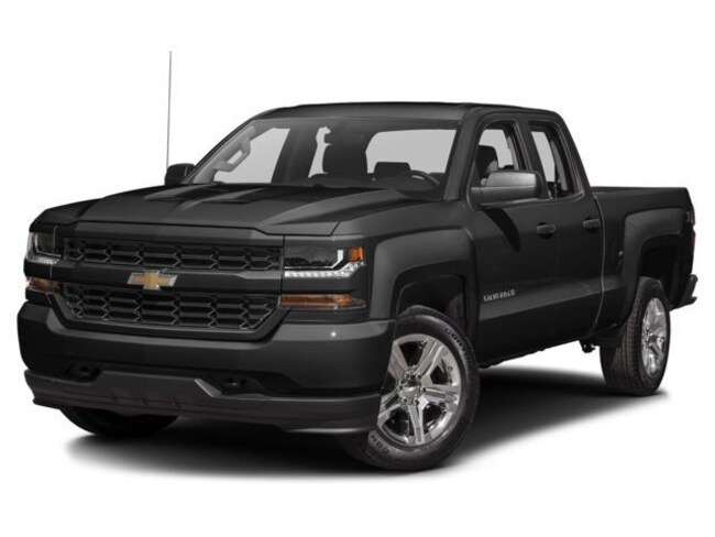 New 2018 Chevrolet Silverado 1500 Silverado Custom Truck Double Cab in Orlando