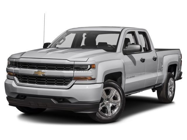 Pre-Owned 2018 Chevrolet Silverado 1500 Custom Truck Double Cab Farmington Hills, MI