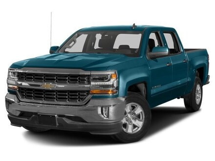 Used 2018 Chevrolet Silverado 1500 LT Truck Crew Cab for sale in Brewton, AL